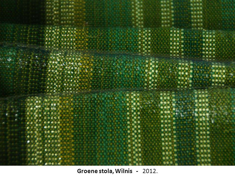 Groene stola, Wilnis - 2012.