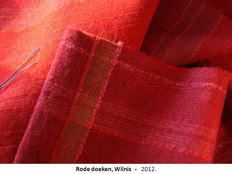 Rode doeken, Wilnis - 2012.