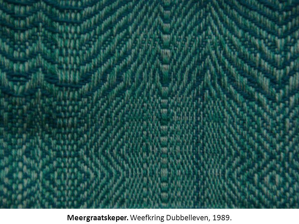 Meergraatskeper. Weefkring Dubbelleven, 1989.