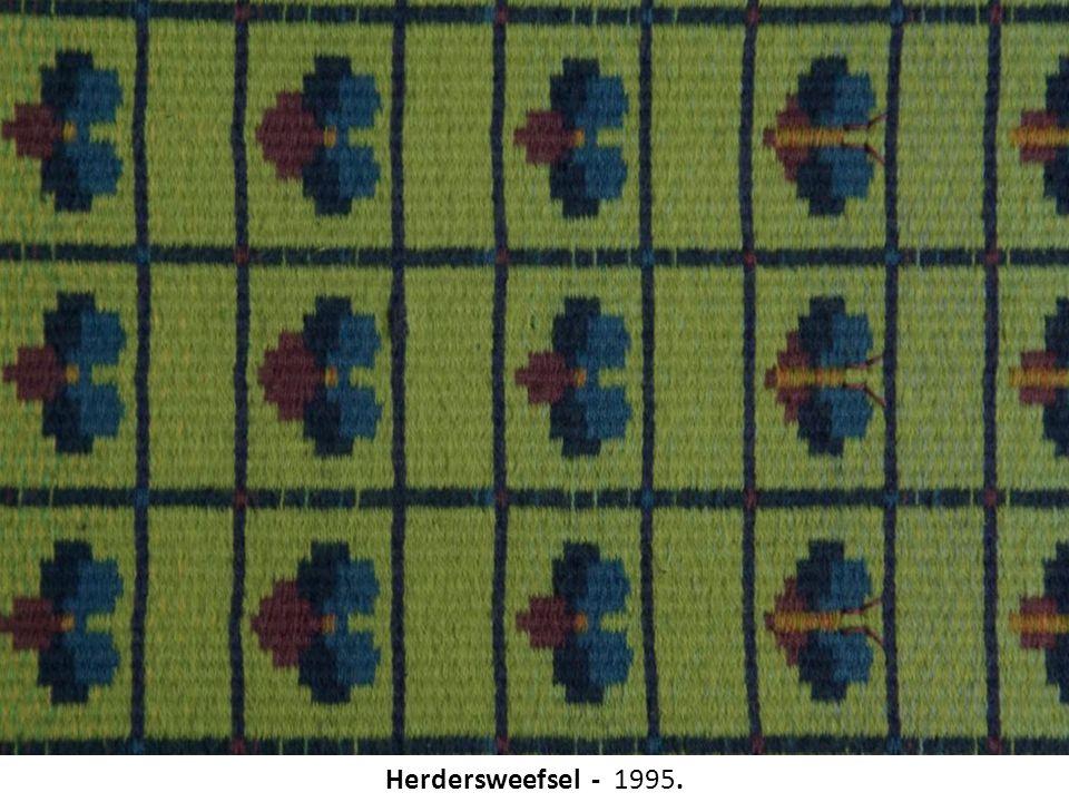 Herdersweefsel - 1995.