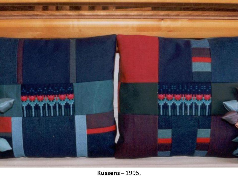 Kussens – 1995.