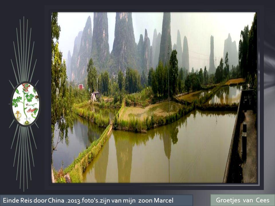 Einde Reis door China .2013.foto s.zijn van mijn zoon Marcel