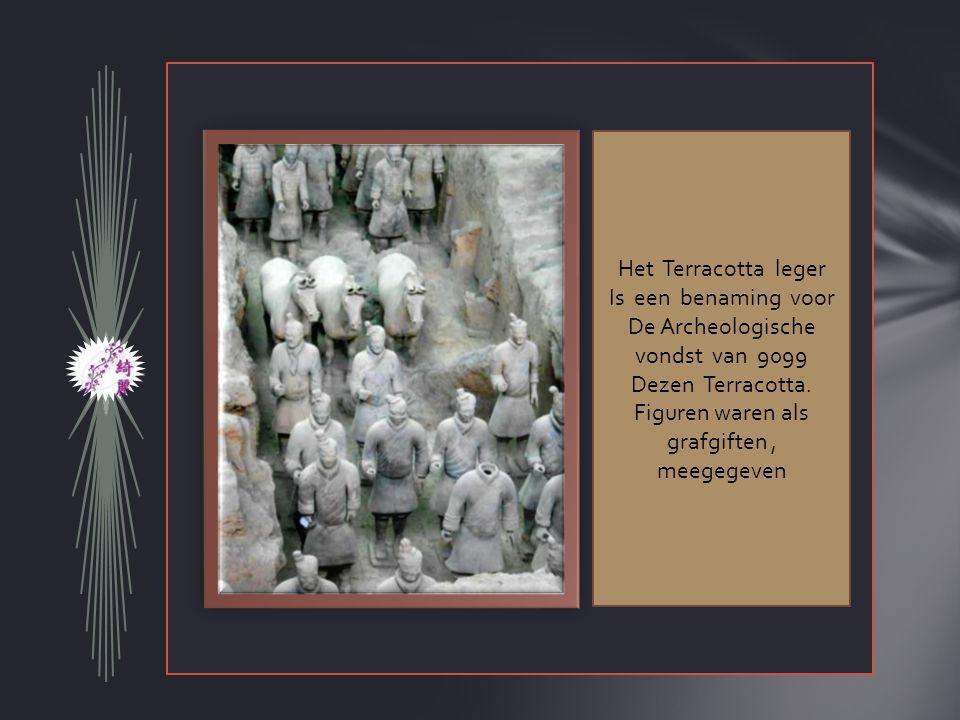 De Archeologische vondst van 9099 Dezen Terracotta.