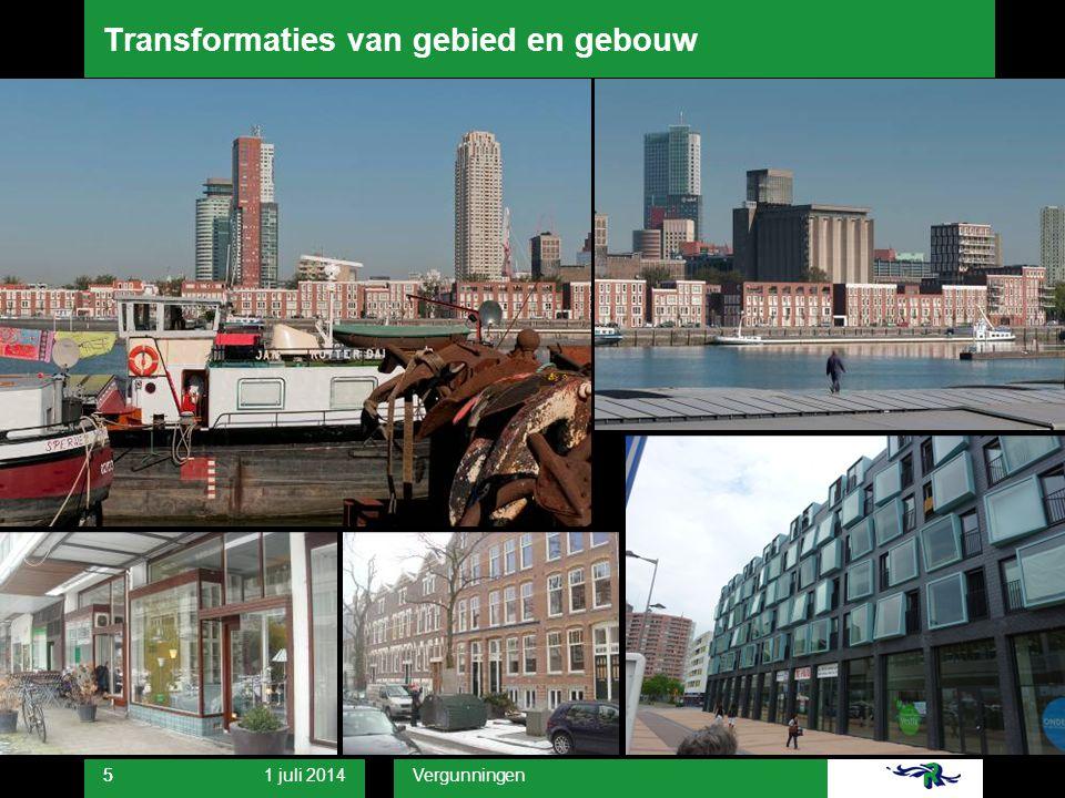 Transformaties van gebied en gebouw