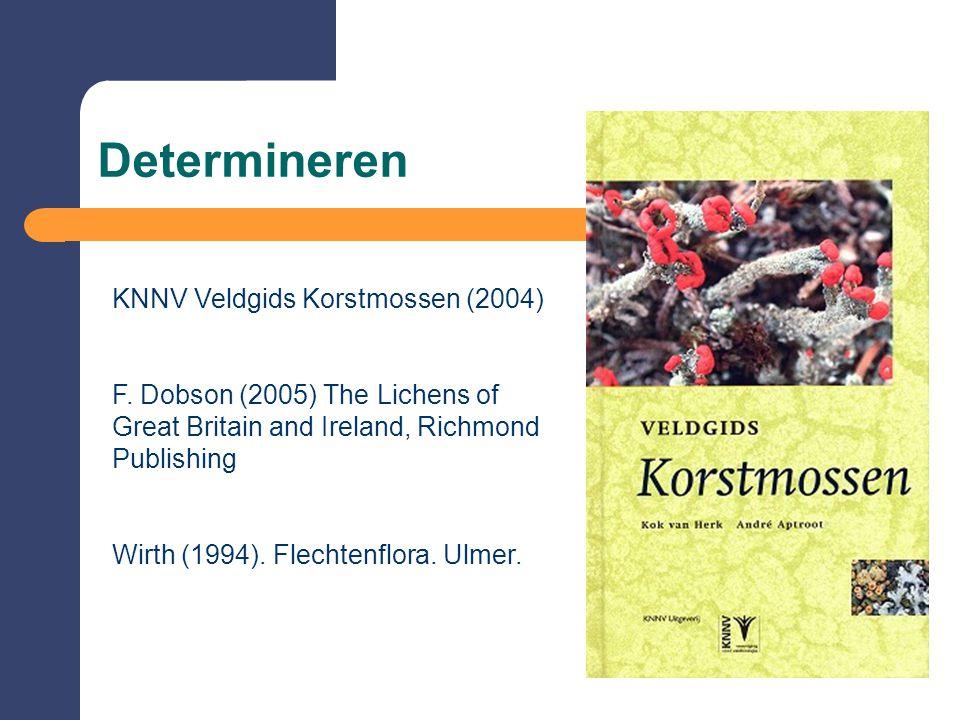 Determineren KNNV Veldgids Korstmossen (2004)