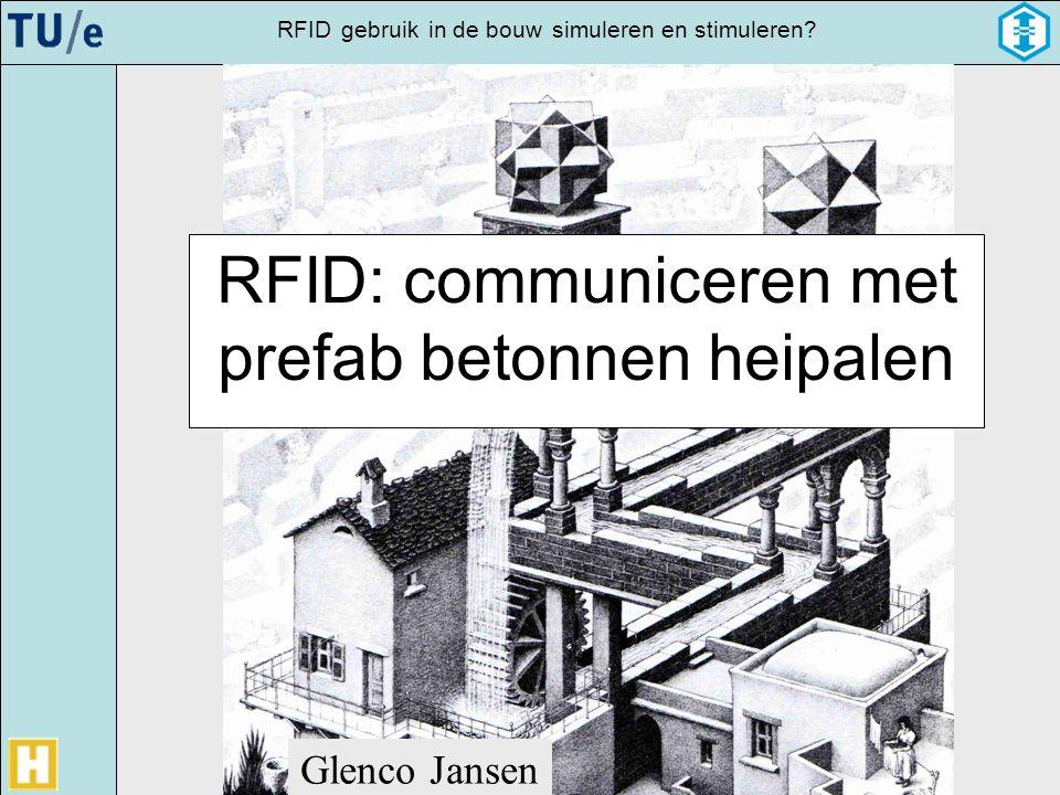 RFID: communiceren met prefab betonnen heipalen