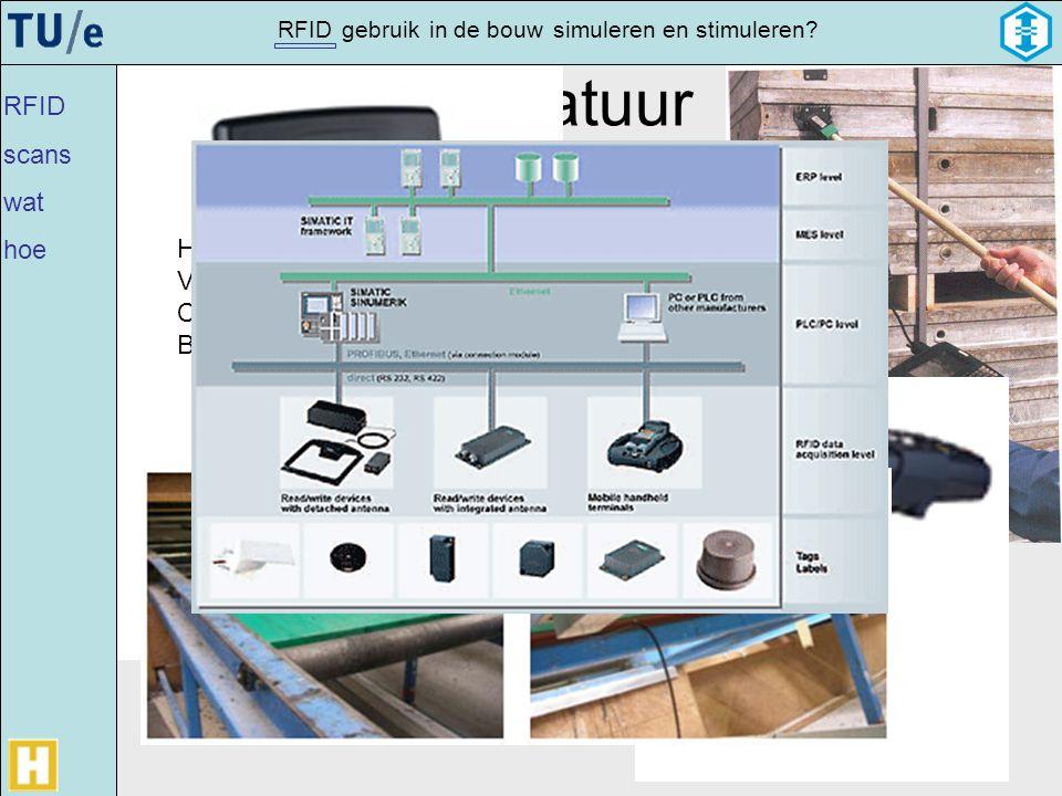 Apparatuur RFID scans wat hoe Handscanner Vaste scanner