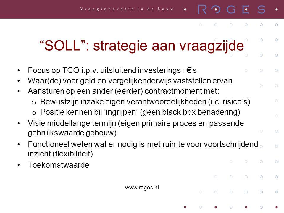 SOLL : strategie aan vraagzijde