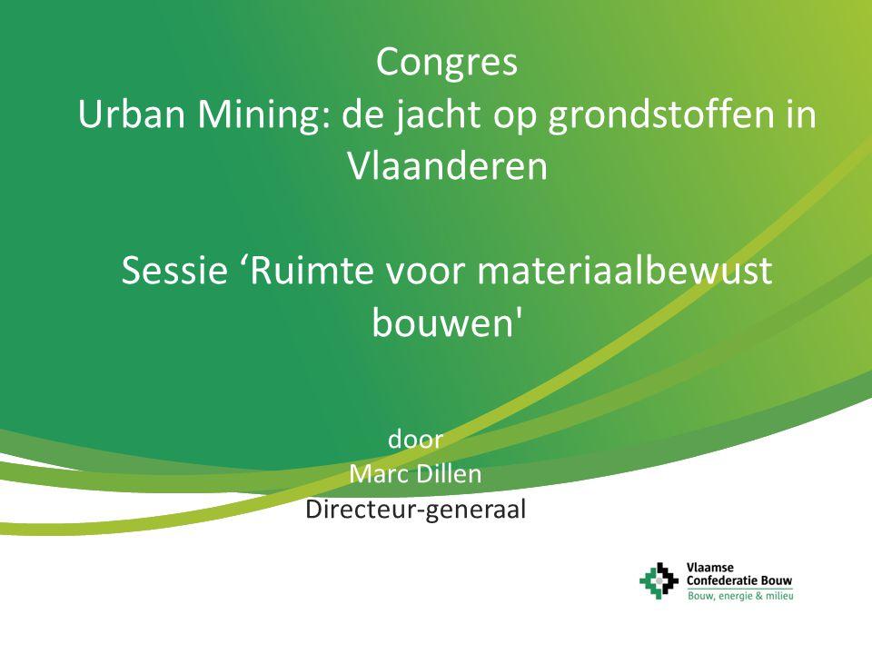 Urban Mining: de jacht op grondstoffen in Vlaanderen