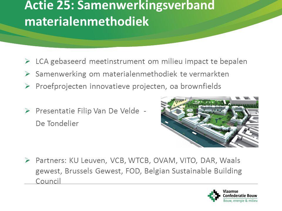 Actie 25: Samenwerkingsverband materialenmethodiek