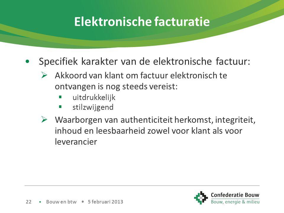Elektronische facturatie