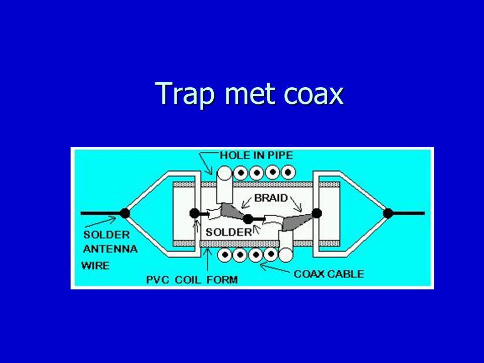 Trap met coax