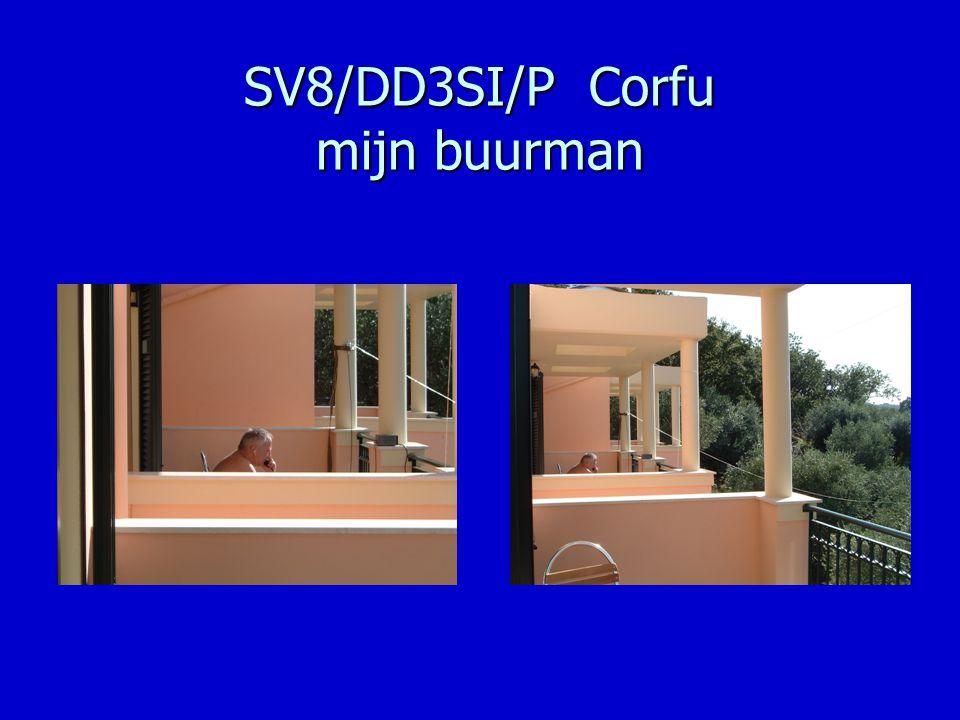 SV8/DD3SI/P Corfu mijn buurman