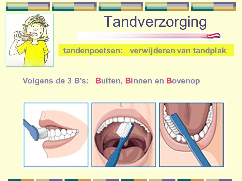 Tandverzorging tandenpoetsen: verwijderen van tandplak