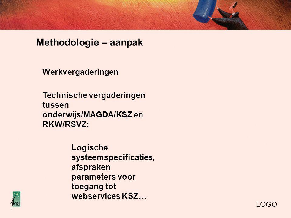Methodologie – aanpak Werkvergaderingen