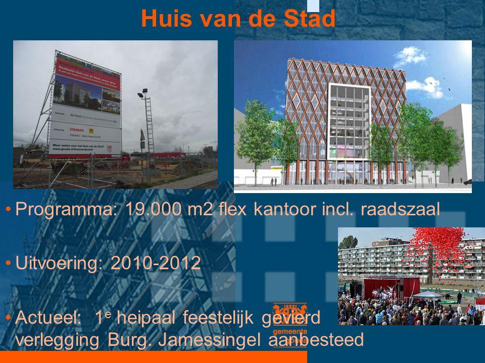 Huis van de Stad Programma: 19.000 m2 flex kantoor incl. raadszaal