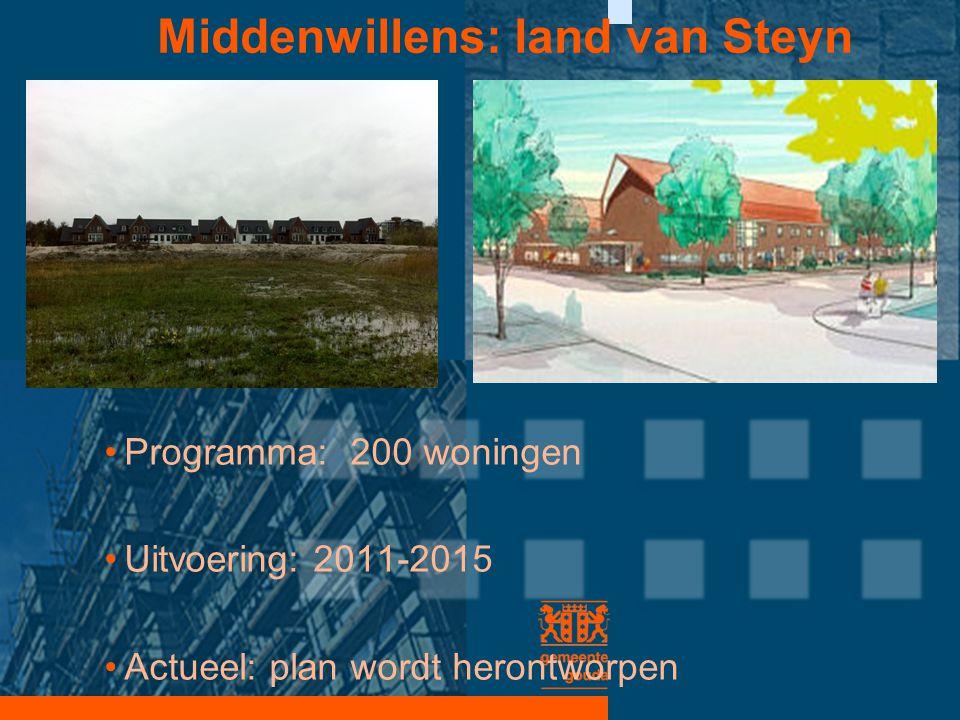 Middenwillens: land van Steyn