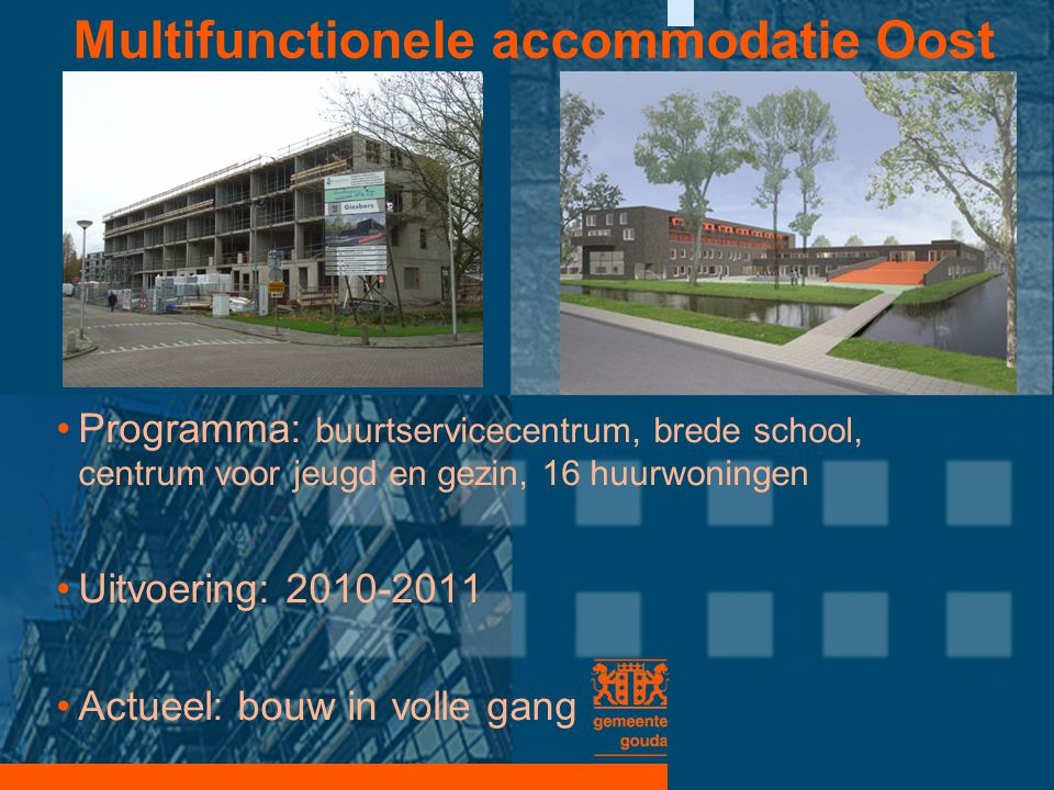 Multifunctionele accommodatie Oost