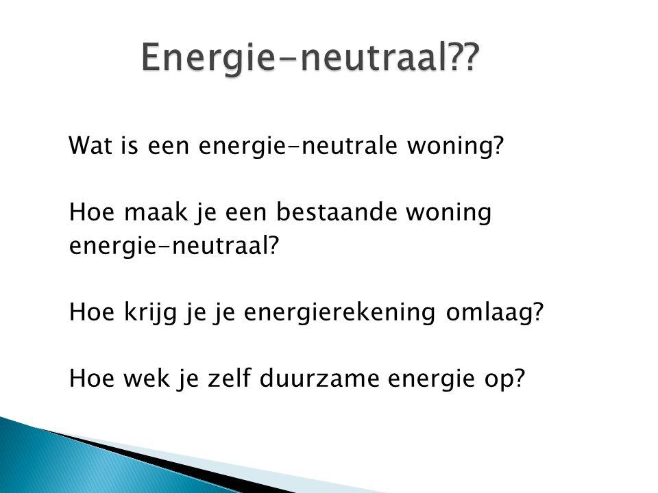 Energie-neutraal