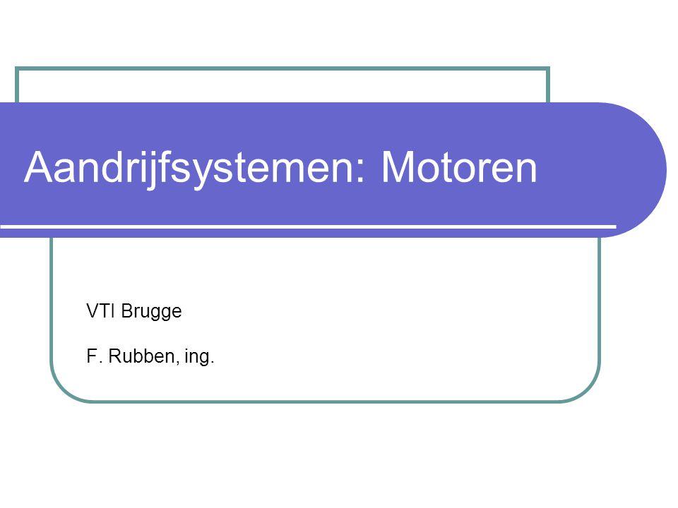 Aandrijfsystemen: Motoren