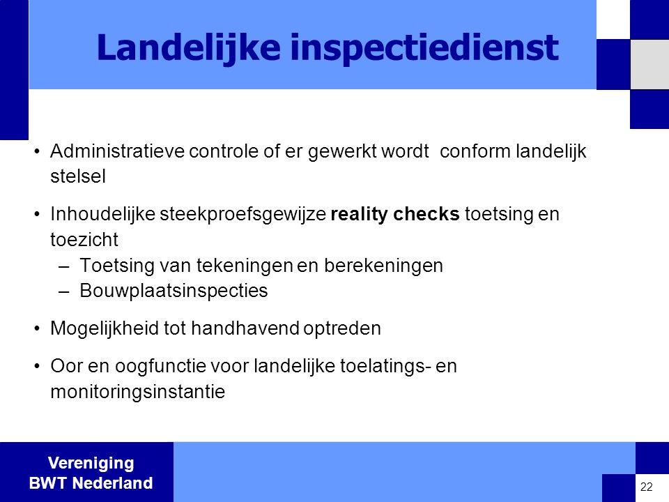 Landelijke inspectiedienst