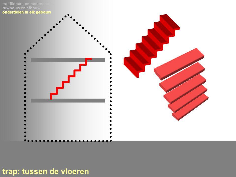 trap: tussen de vloeren