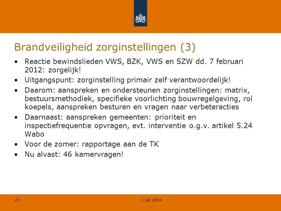 Brandveiligheid zorginstellingen (3)