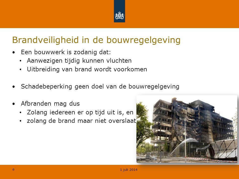 Brandveiligheid in de bouwregelgeving