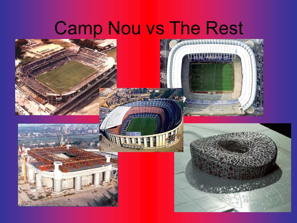 Camp Nou vs The Rest