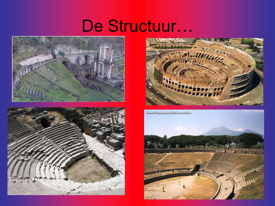De Structuur…