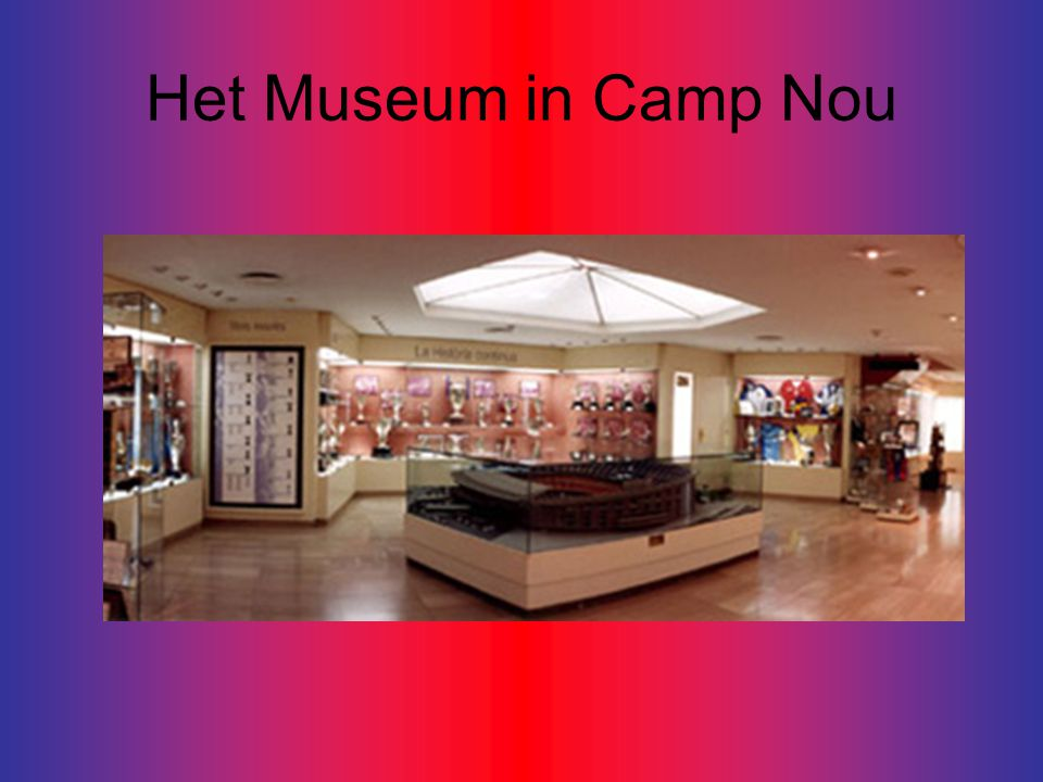 Het Museum in Camp Nou