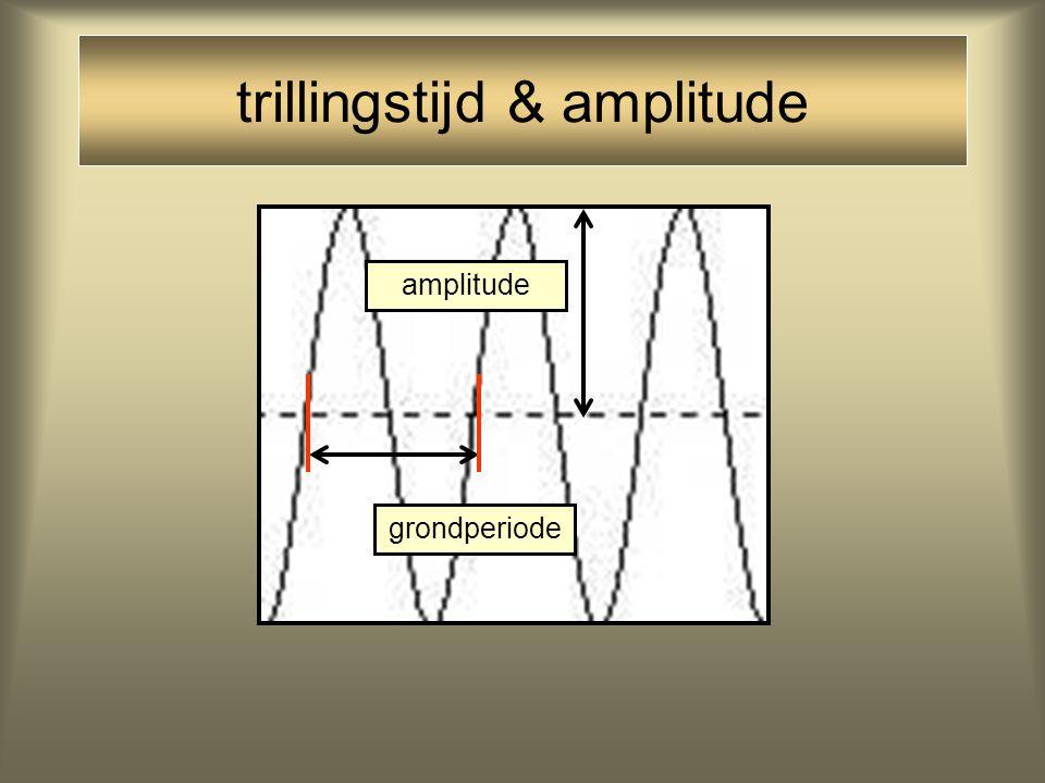 trillingstijd & amplitude
