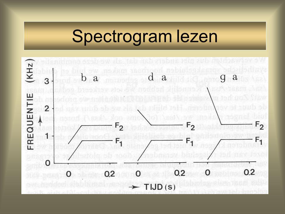 Spectrogram lezen