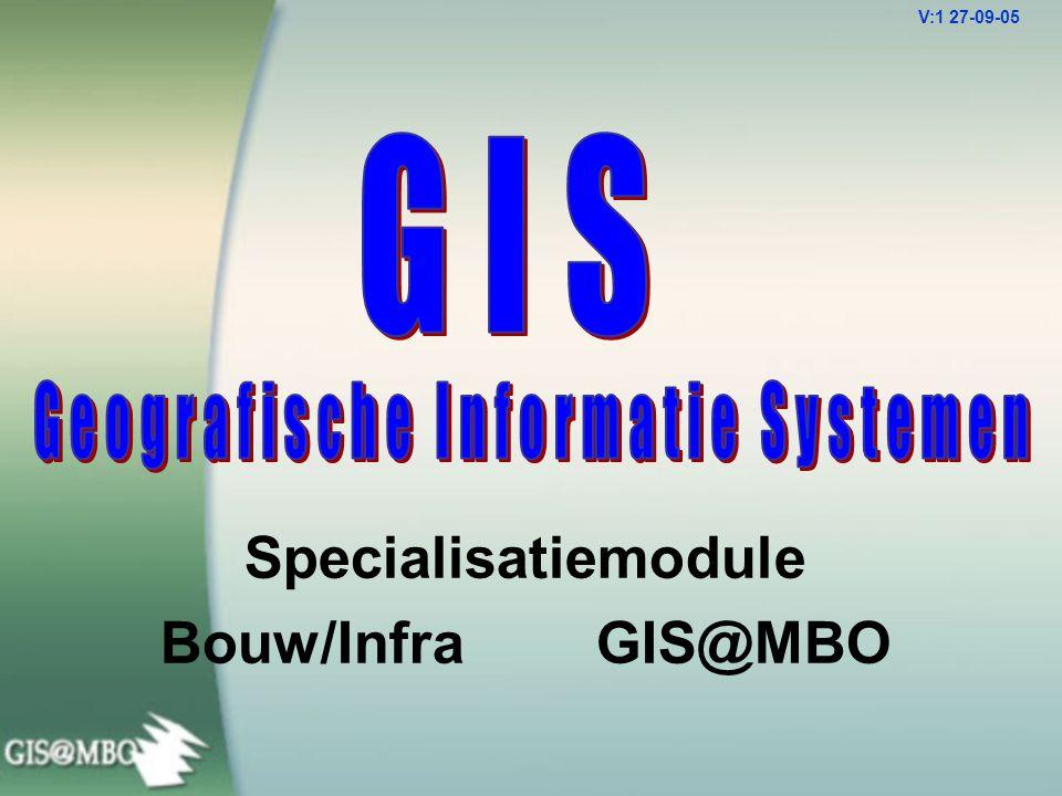 Specialisatiemodule Bouw/Infra GIS@MBO