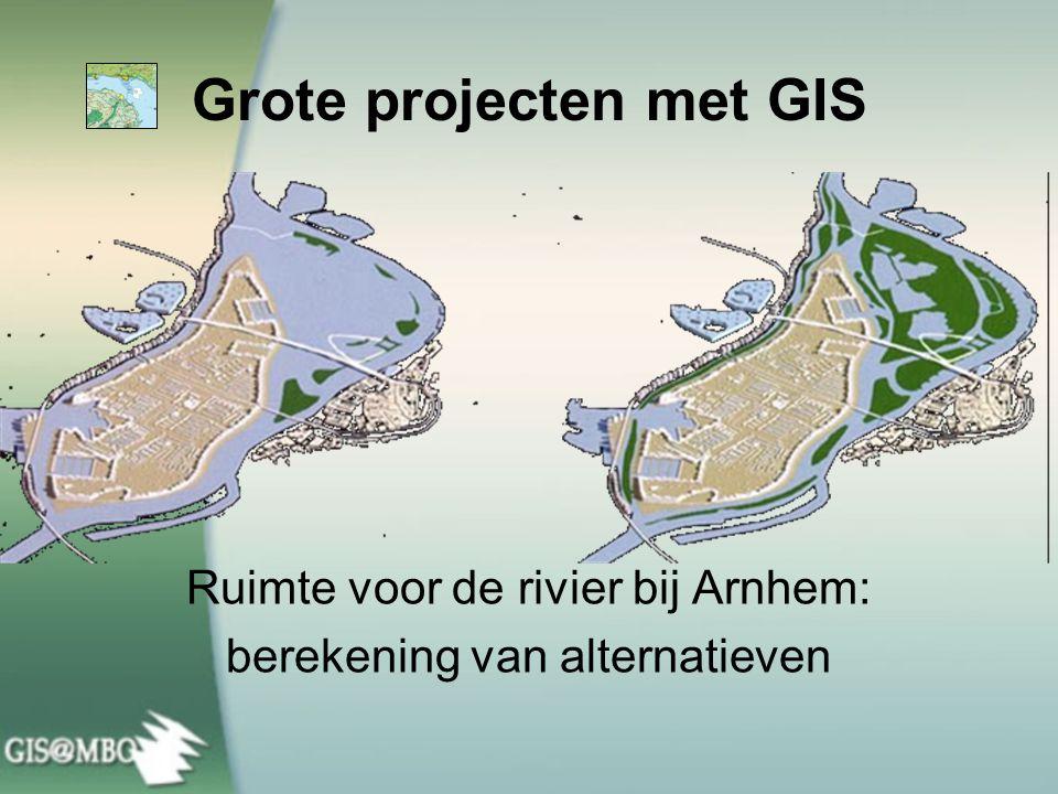 Grote projecten met GIS