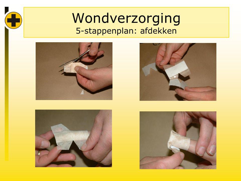 Wondverzorging 5-stappenplan: afdekken