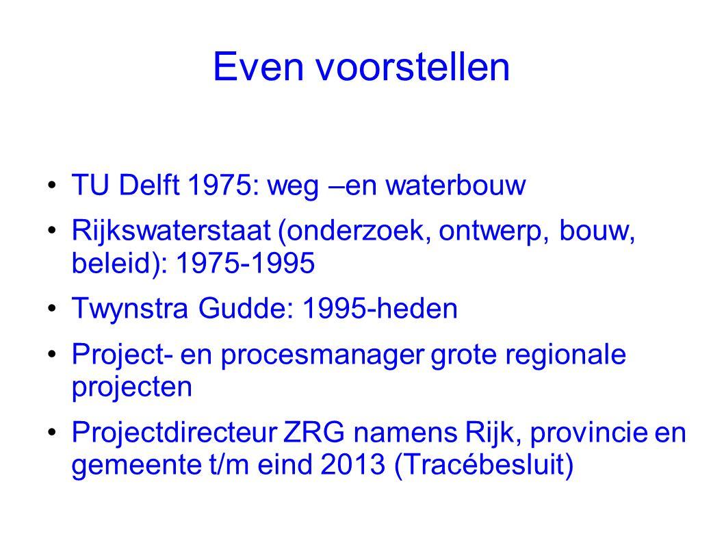 Even voorstellen TU Delft 1975: weg –en waterbouw
