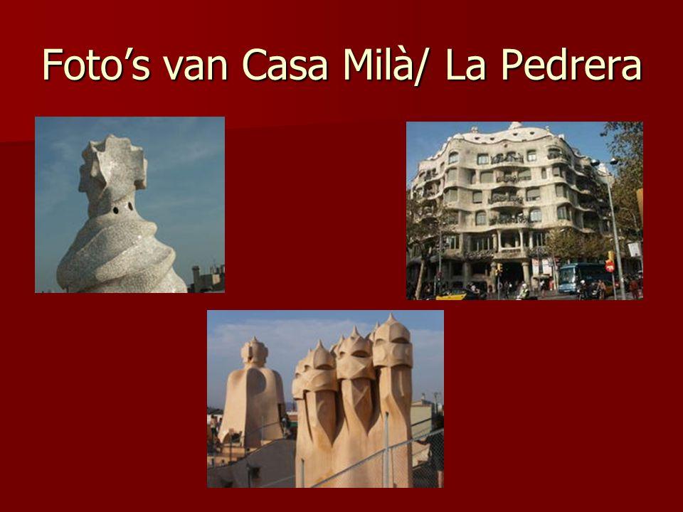 Foto's van Casa Milà/ La Pedrera