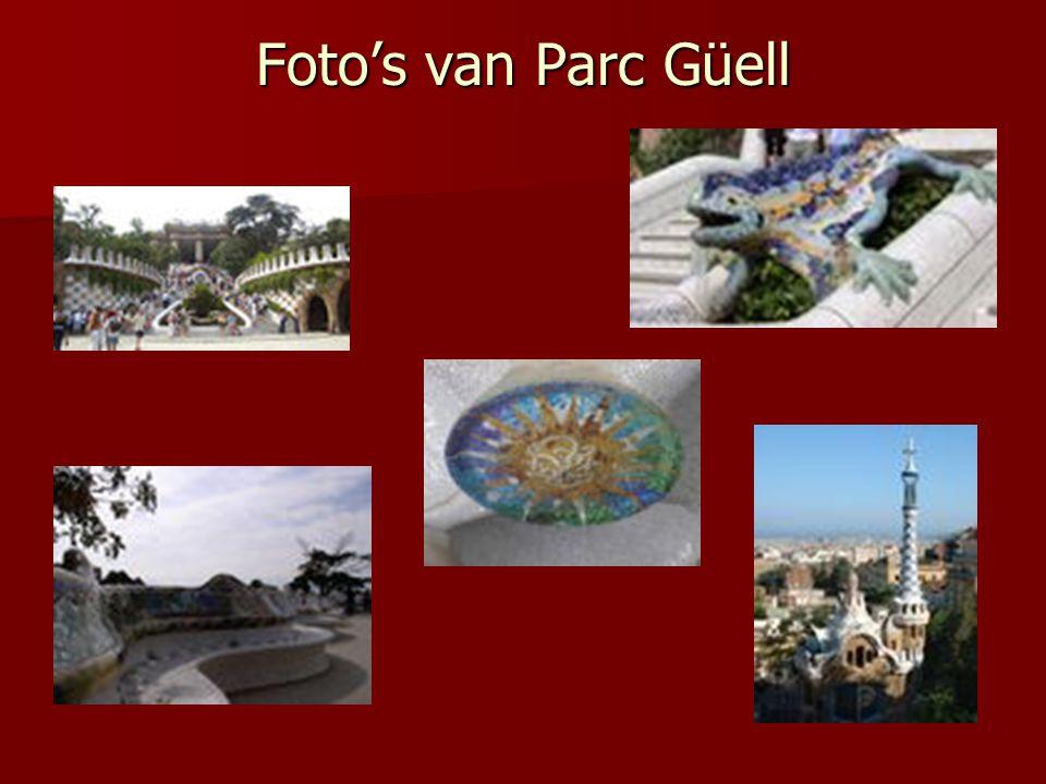Foto's van Parc Güell
