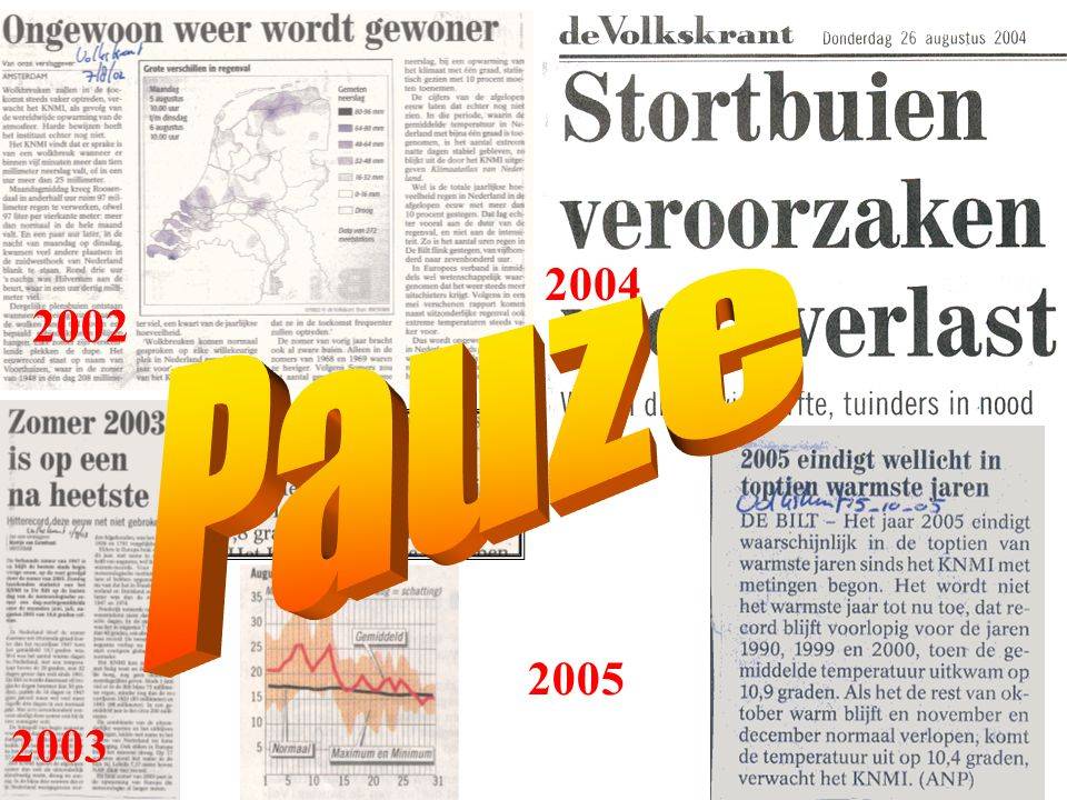 Pauze 2004 Pauze 2002 2005 2003
