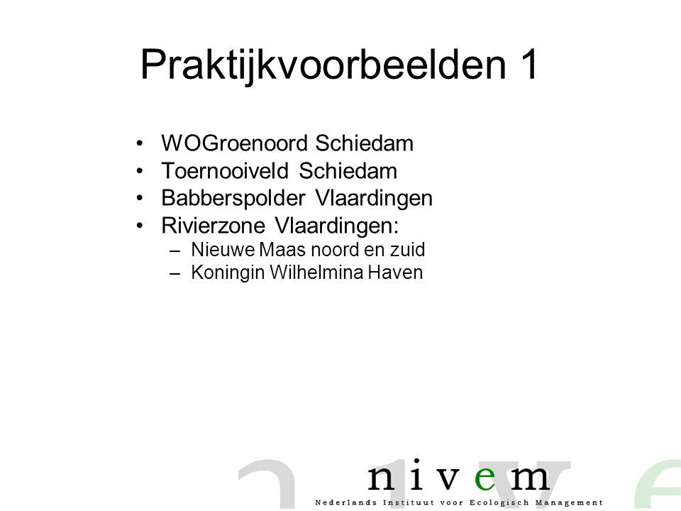 Praktijkvoorbeelden 1 WOGroenoord Schiedam Toernooiveld Schiedam