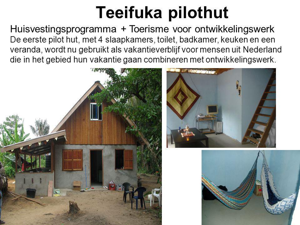 Teeifuka pilothut Huisvestingsprogramma + Toerisme voor ontwikkelingswerk.