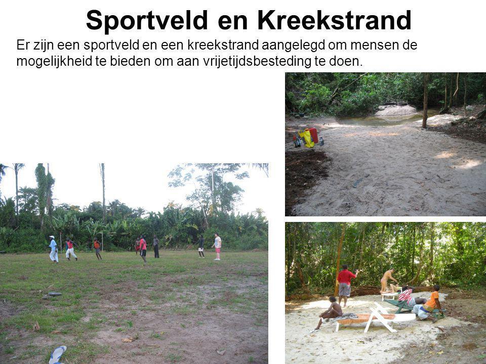 Sportveld en Kreekstrand