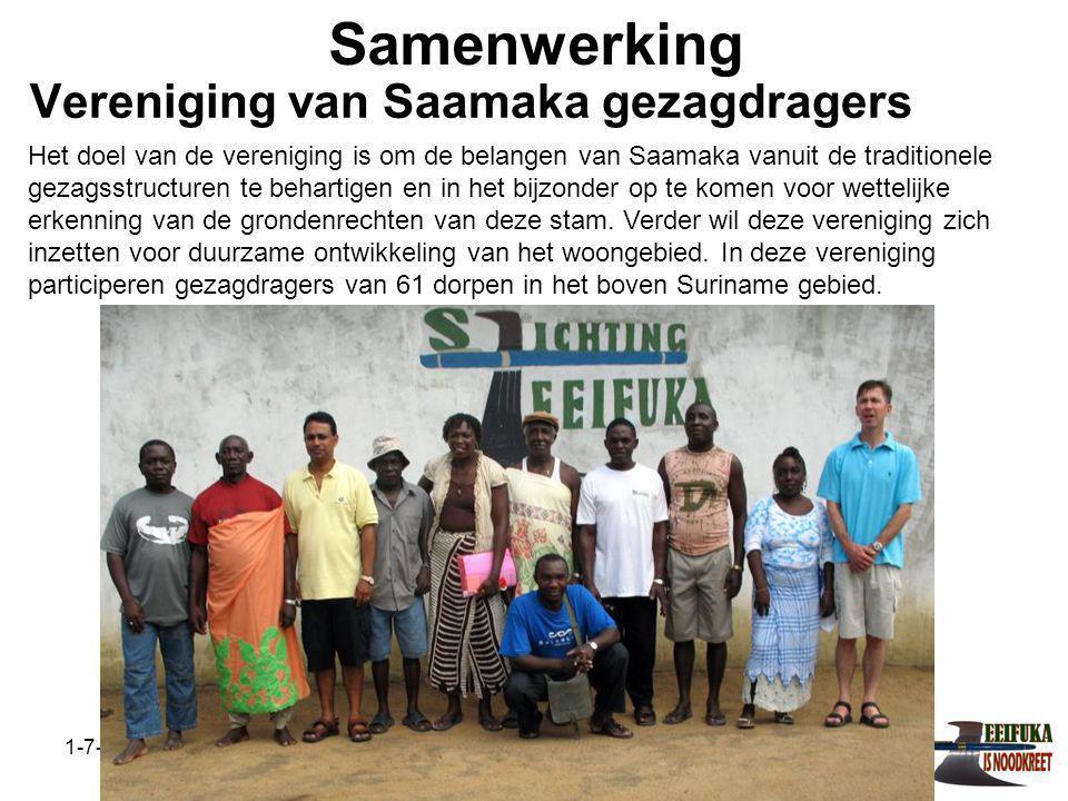 Vereniging van Saamaka gezagdragers