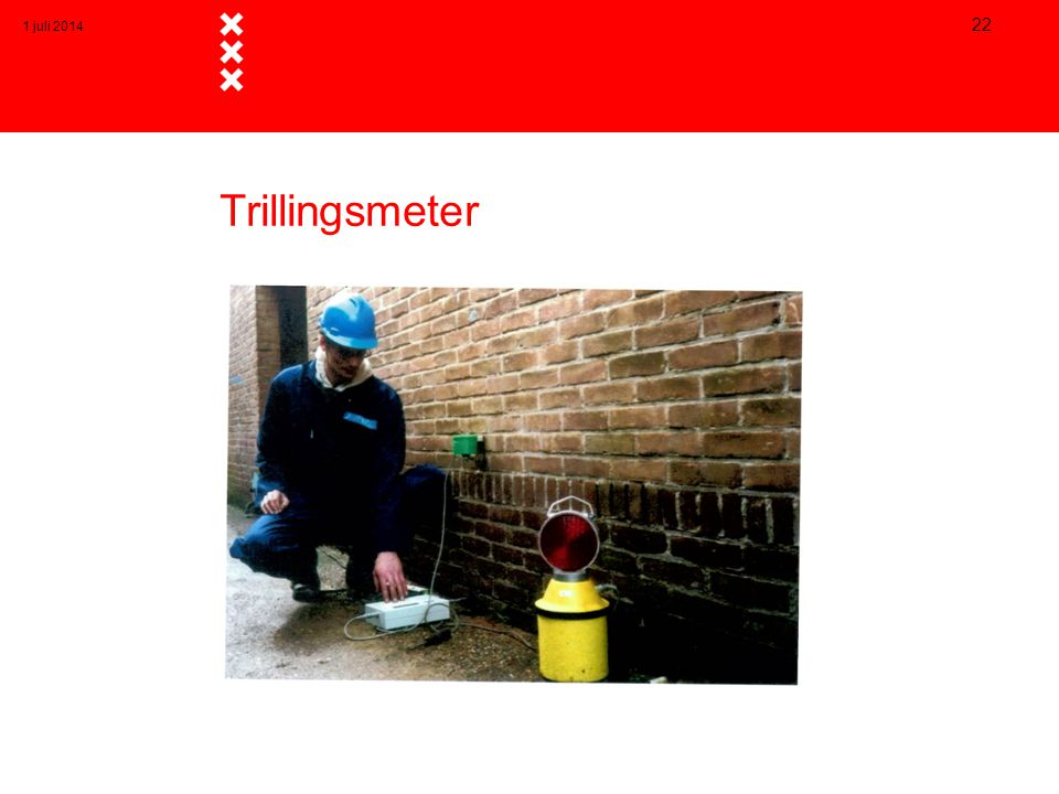3 april 2017 Trillingsmeter
