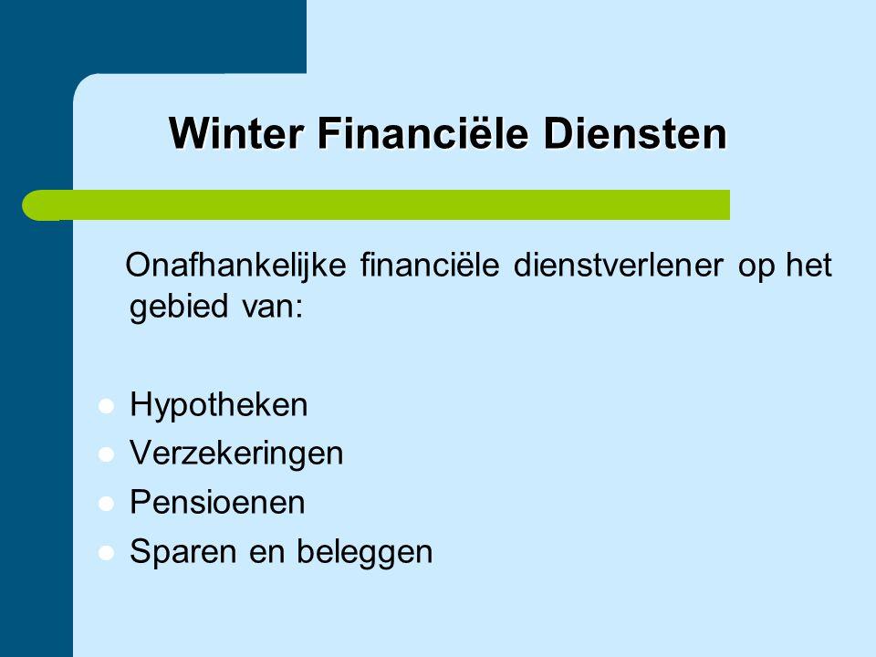 Winter Financiële Diensten