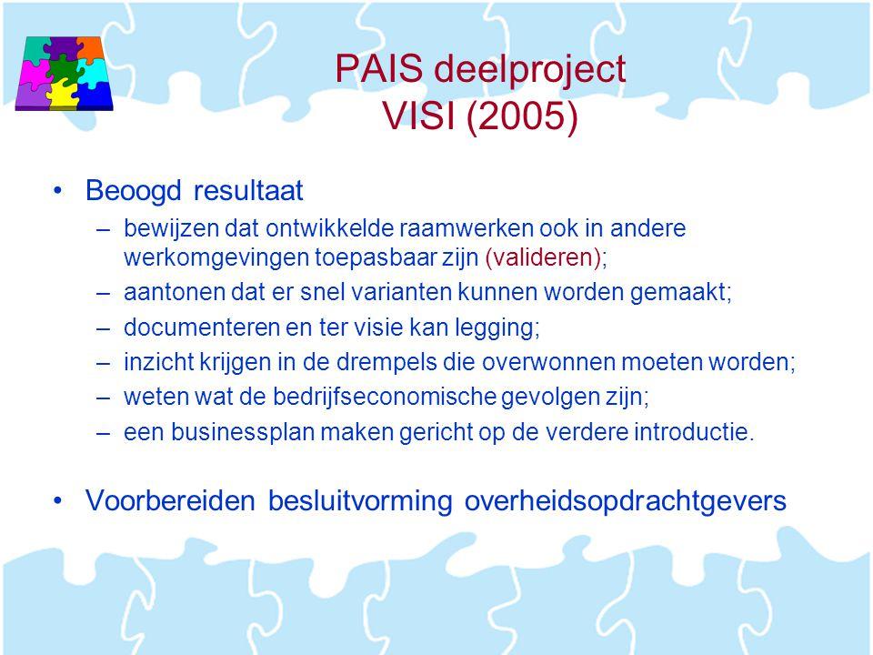 PAIS deelproject VISI (2005)