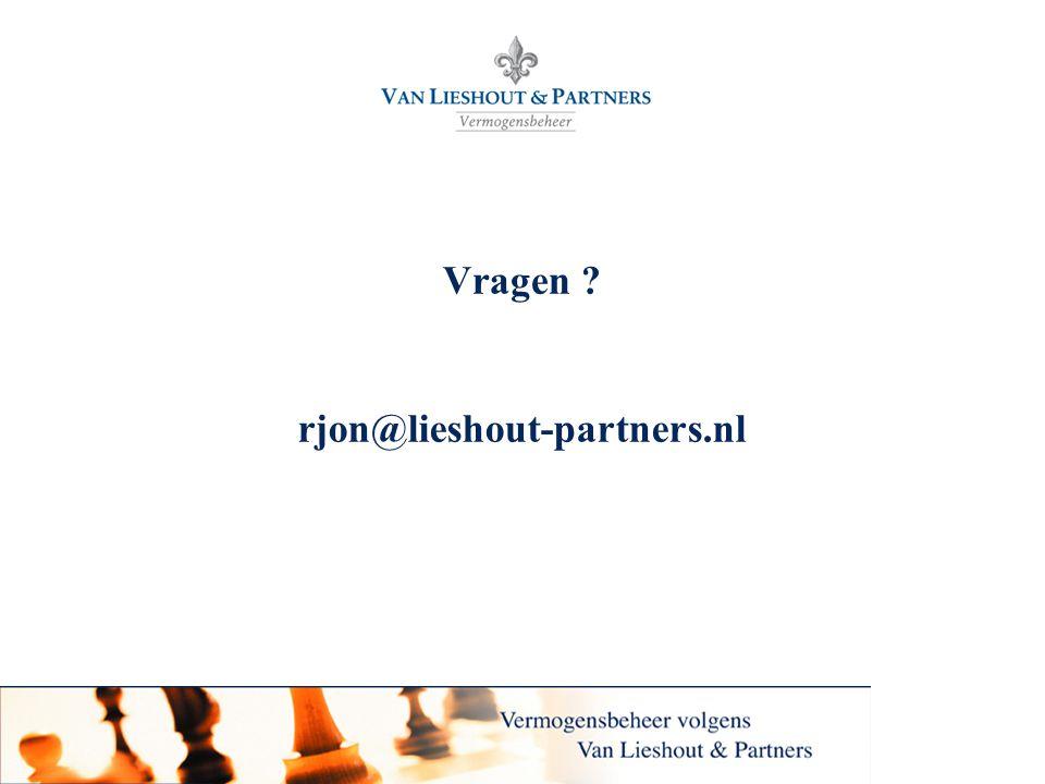 Vragen rjon@lieshout-partners.nl