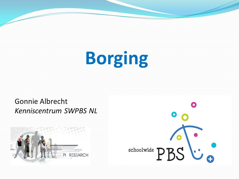 Borging Gonnie Albrecht Kenniscentrum SWPBS NL 1 1