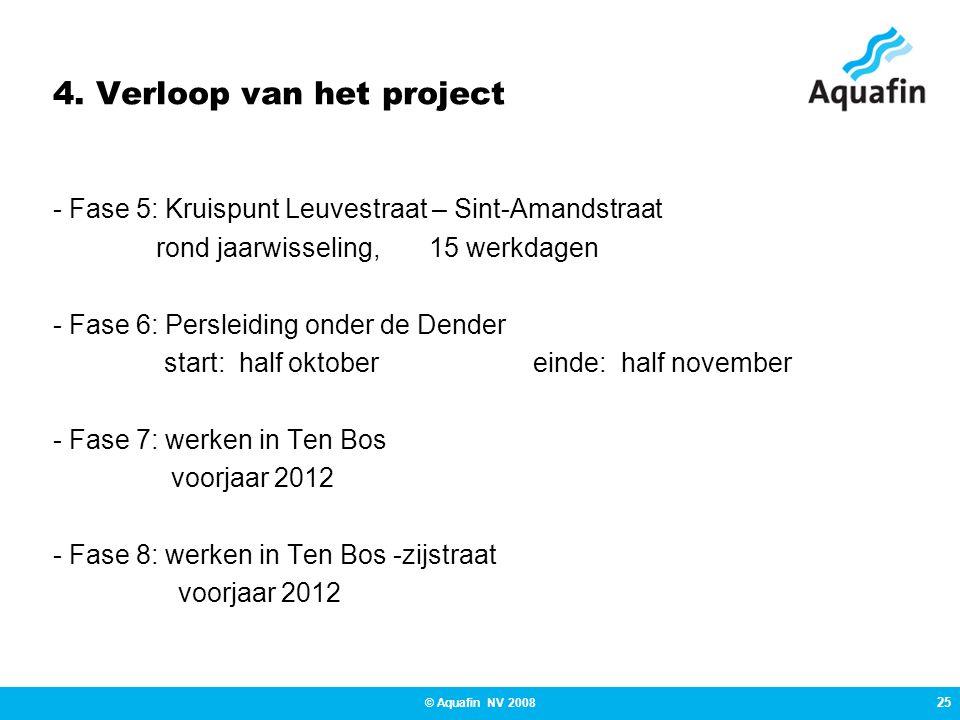 4. Verloop van het project